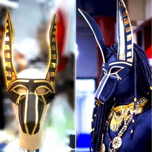 H887 Anubis Egypt Alien Headdress