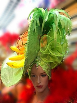 H919 The Pretty Fruit Angel Headdress