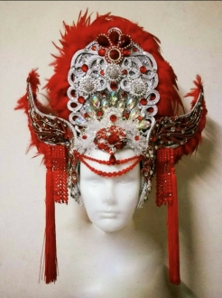 H933 Viking Sea Dragon Headdress