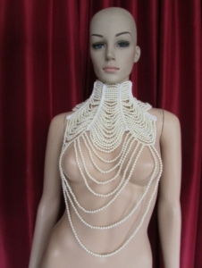J001 Pearl Necklace Choker