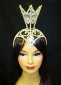 Q Queen Crystal Crown