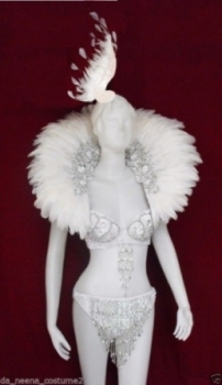 C0052 White Swan Costume Set