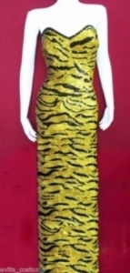 TIG Tiger Showgirl Gown