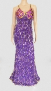 G007 Sequin Showgirl Gown