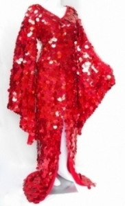 BAL Sequin Showgirl Gown