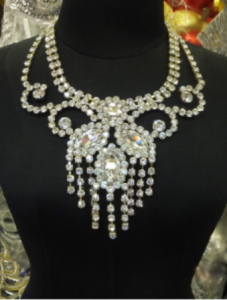 NC0002  Cabaret Crystal Necklace