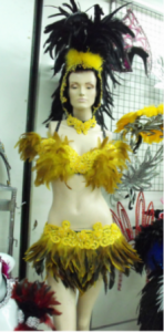 FTR Parade Rio Headdress Costume Set