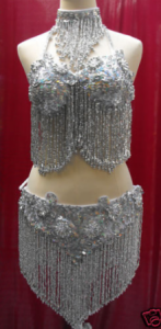 S2 Party Dance  Sequin Showgirl Dress Costume