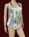 L017 Mirror Showgirl Leotard L-XL