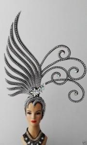 Da NeeNa H154 Vegas Butterfly Bird Roc Rukh Garuda Headdress