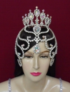 Queen 8 Crown Tiara