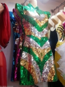 L615 The China Doll Showgirl Dress