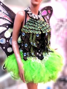 M6476 Cute Colorful Lady Showgirl Dress