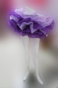 M151 Dancer Lady Showgirl Vegas Stage Ruffle Skirt