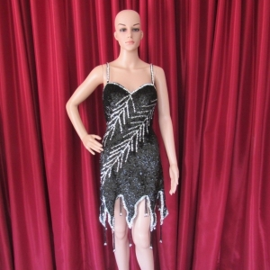 R14 Showgirl Branch of Tree Showgirl Dress L
