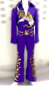 Elvis Presley Inspired American Singer Musician Actor The King Jumpsuit Suit Jacket Cape