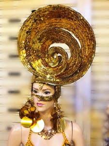 H881 Shell Princess Headdress