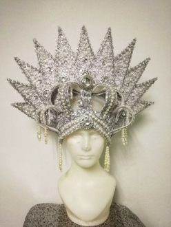 H925 The Metallic Princess Headdress